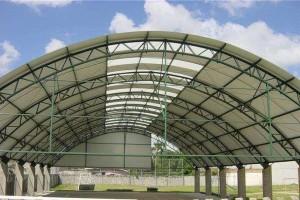 Cobertura Metálica em Arco