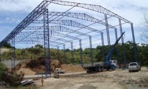 Galpão estrutura metálica preço m2