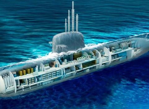 Submarino de propulsão nuclear