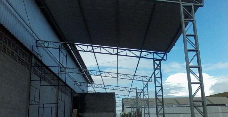 Estrutura metálica pré fabricada