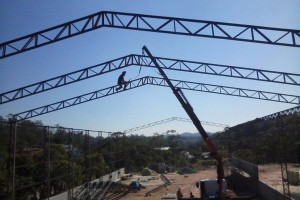 Montagem de estruturas metalicas sp